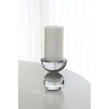 Specktrum Shadow Square Candle Holder Clear
