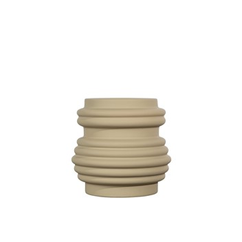 By ON Mila Vase Beige Small