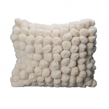 By ON Pillow Pom Pom White