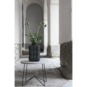 dbkd Coxa Vase Small Black