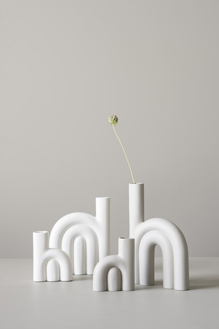dbkd Rope Vase Small White