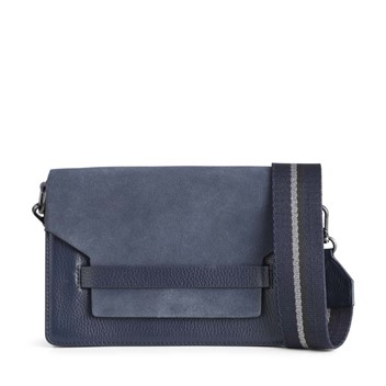 Markberg Arabella Bag Suede Mix Navy