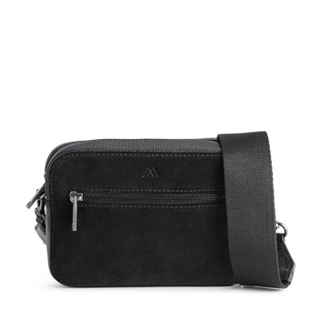 Markberg Elea Bag Black/Black Suede Mix