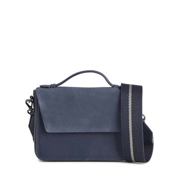 Markberg Kamaya Bag Suede Mix Navy